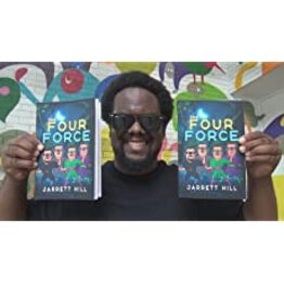 Los Angeles Author Jarrett Hill AKA JMoneyMakk Launches Newest Crime Thriller Action Book, The Four Force