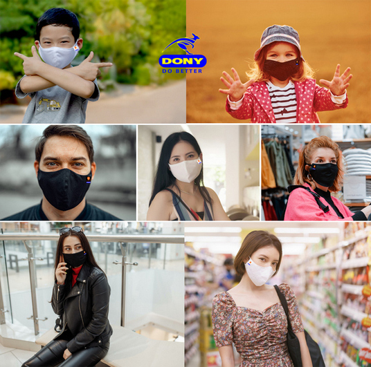 Fast wholesale supply covid face mask to Netherlands (Holland): Eco-friendly, reusable cloth by DONY