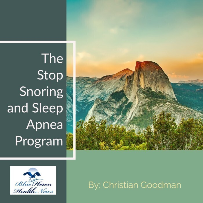 The Stop Snoring And Sleep Apnea Program Reviews - Blue Heron Health News Snoring Exercises Review By DietCare Reviews
