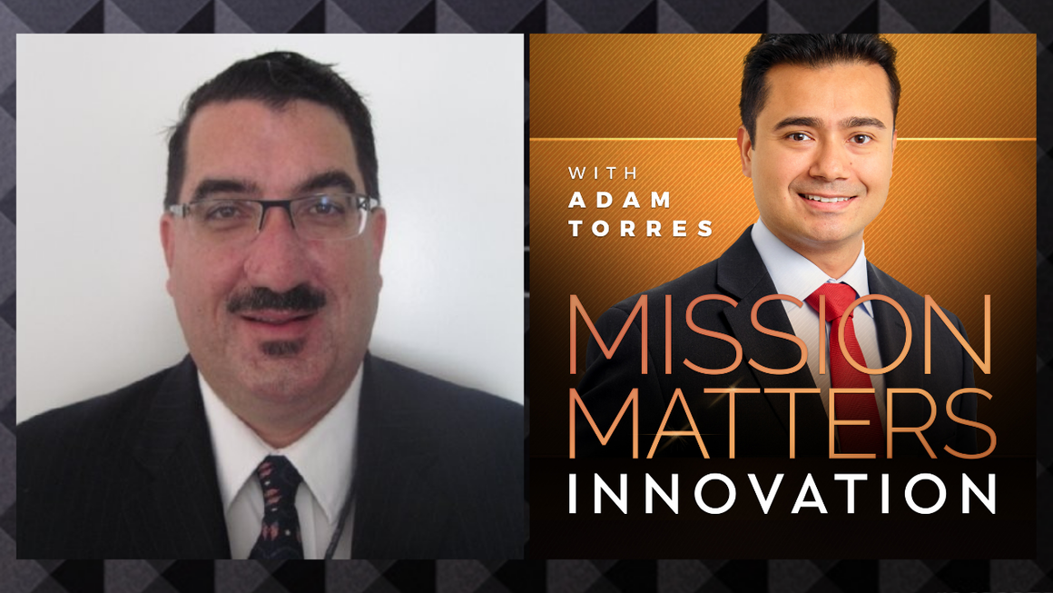 Edmund Burke is interviewed on the Mission Matters Innovation Podcast with Adam Torres.