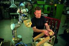 Robotic Arm Gains Momentum in the Warehouse - Universal Robots
