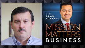 Osman Dulgeroglu was interviewed on the Mission Matters Business Podcast by Adam Torres.