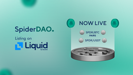 SpiderDAO's $SPDR Token Listed on Liquid Exchange